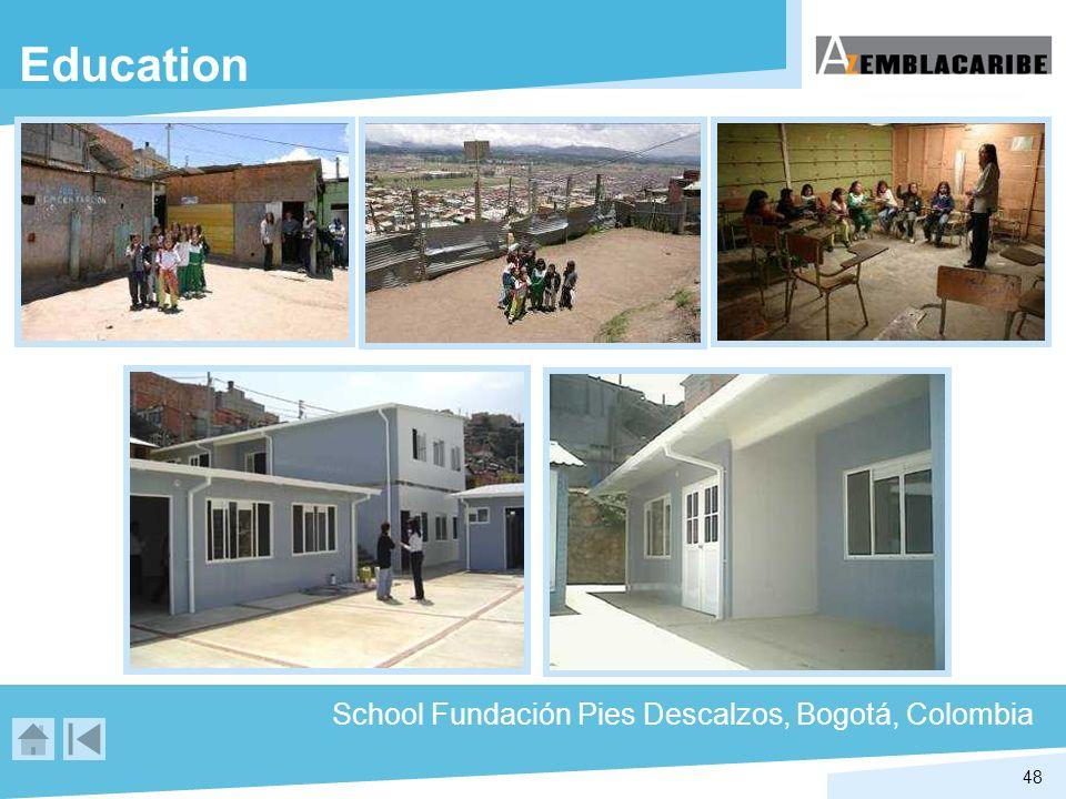 48 Education School Fundación Pies Descalzos, Bogotá, Colombia