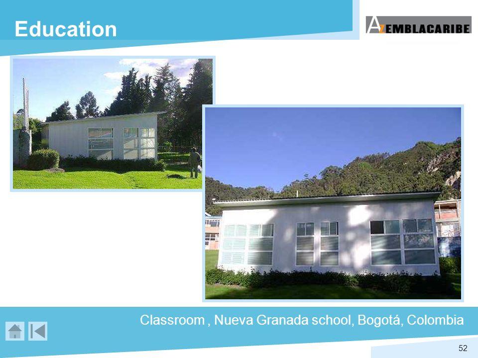 52 Education Classroom, Nueva Granada school, Bogotá, Colombia