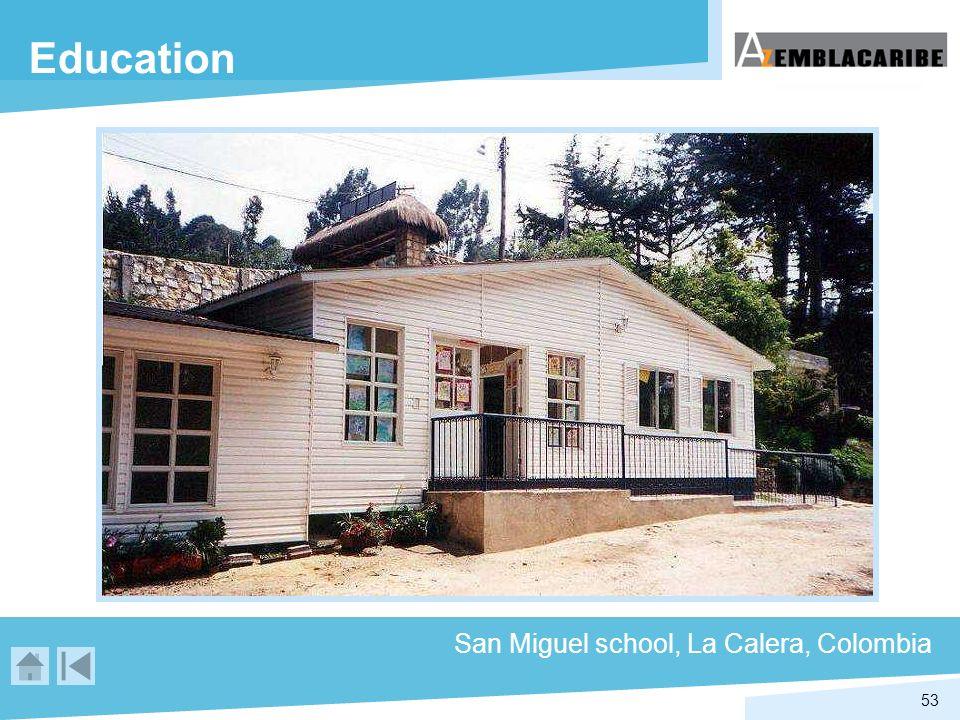 53 Education San Miguel school, La Calera, Colombia