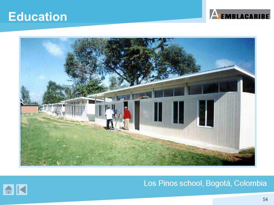 54 Education Los Pinos school, Bogotá, Colombia