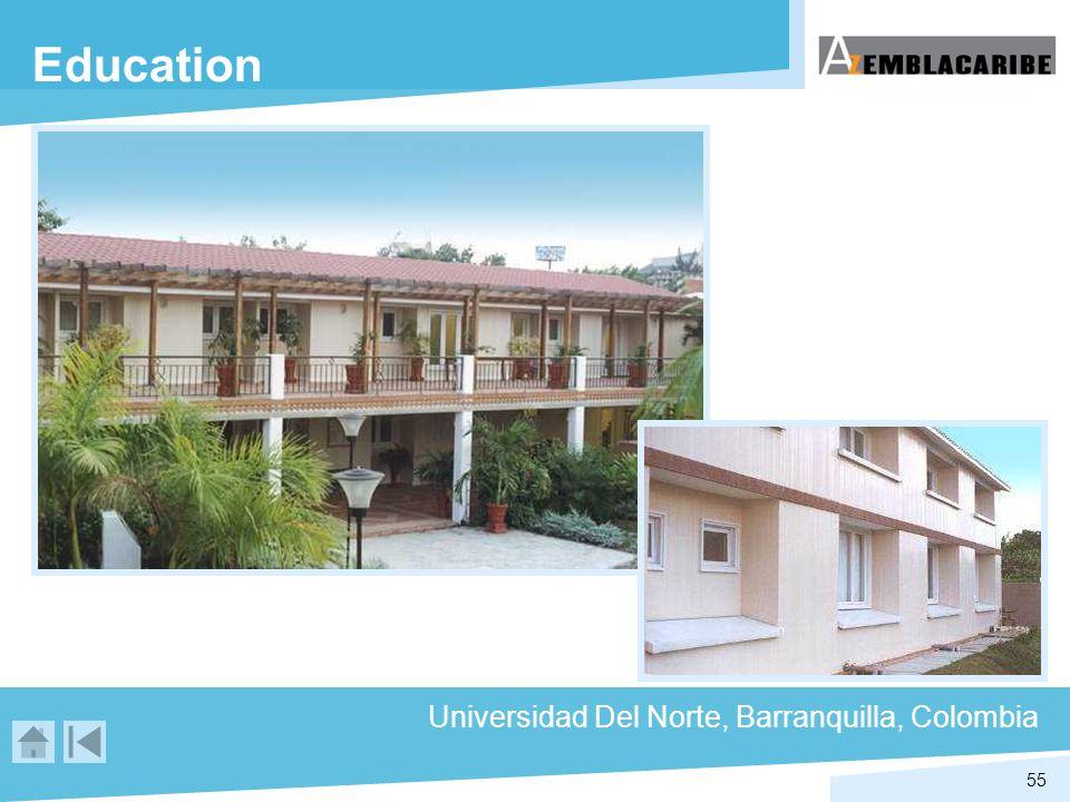 55 Education Universidad Del Norte, Barranquilla, Colombia