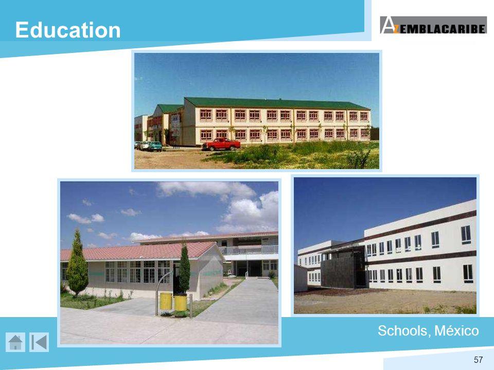 57 Education Schools, México