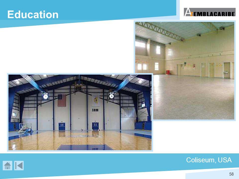 58 Education Coliseum, USA