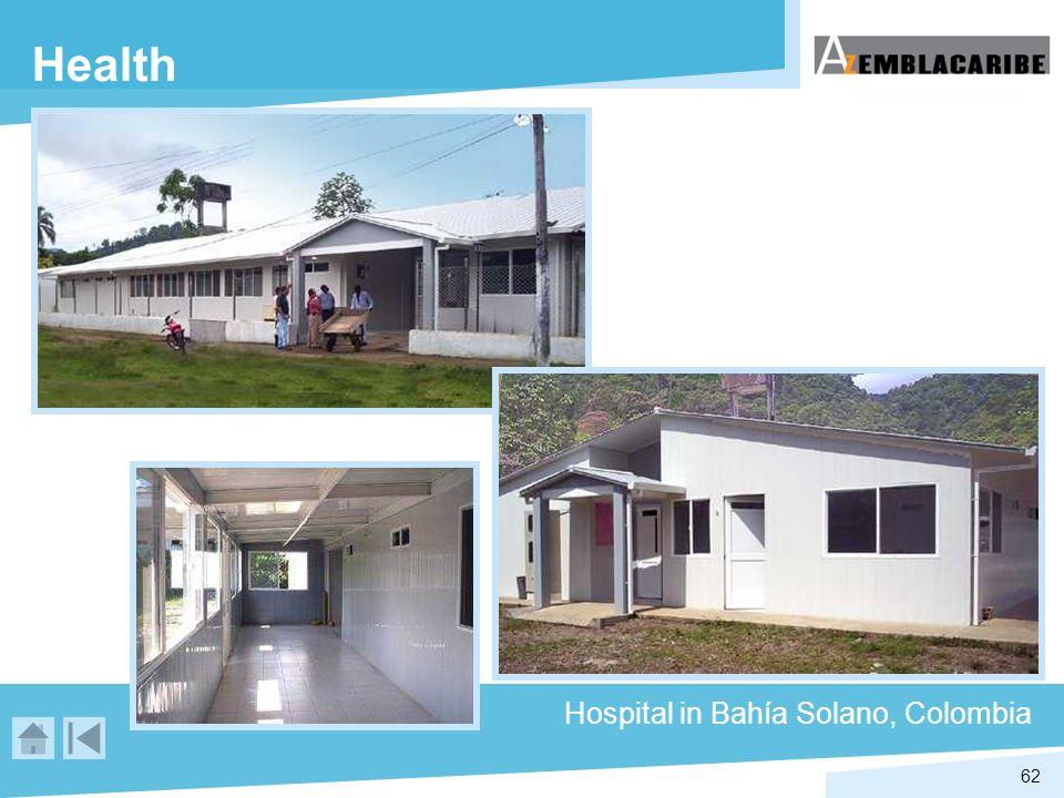 62 Health Hospital in Bahía Solano, Colombia