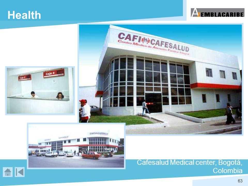 63 Health Cafesalud Medical center, Bogotá, Colombia