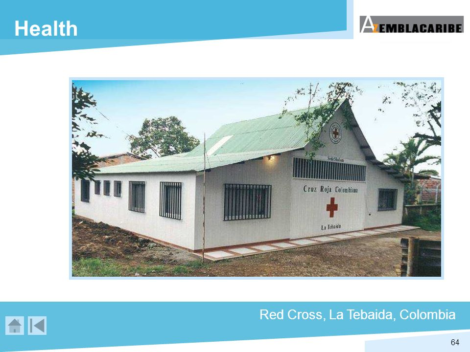 64 Health Red Cross, La Tebaida, Colombia