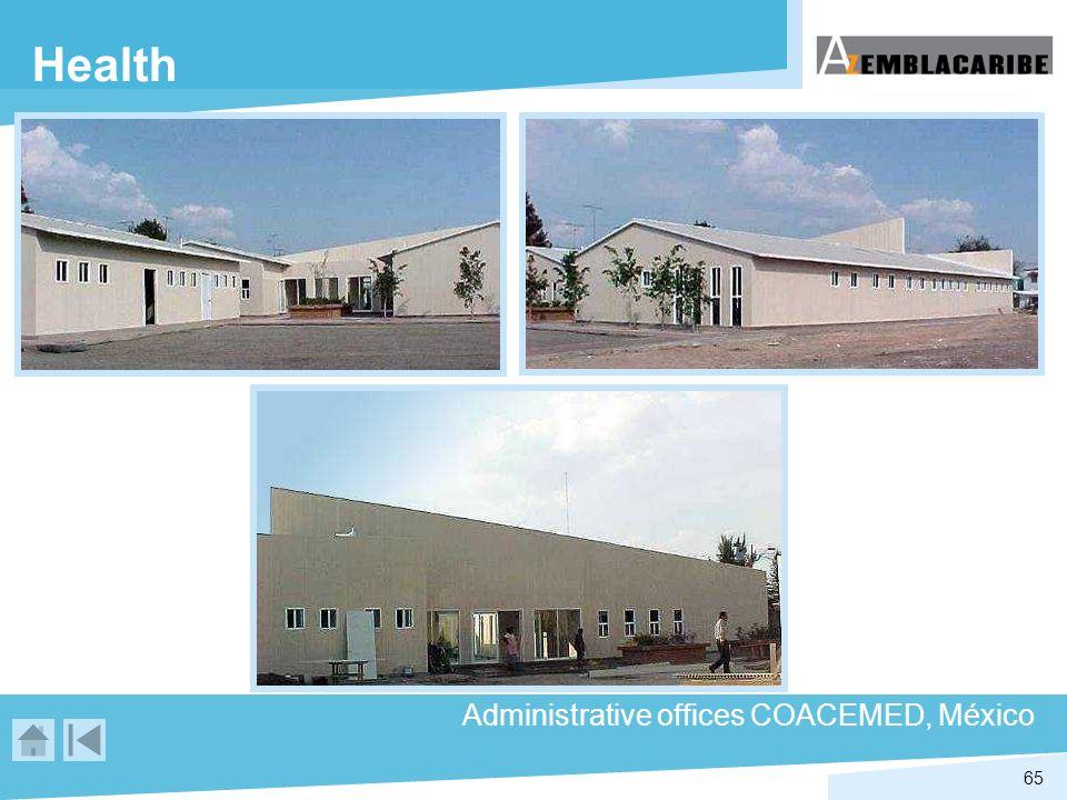 65 Health Administrative offices COACEMED, México