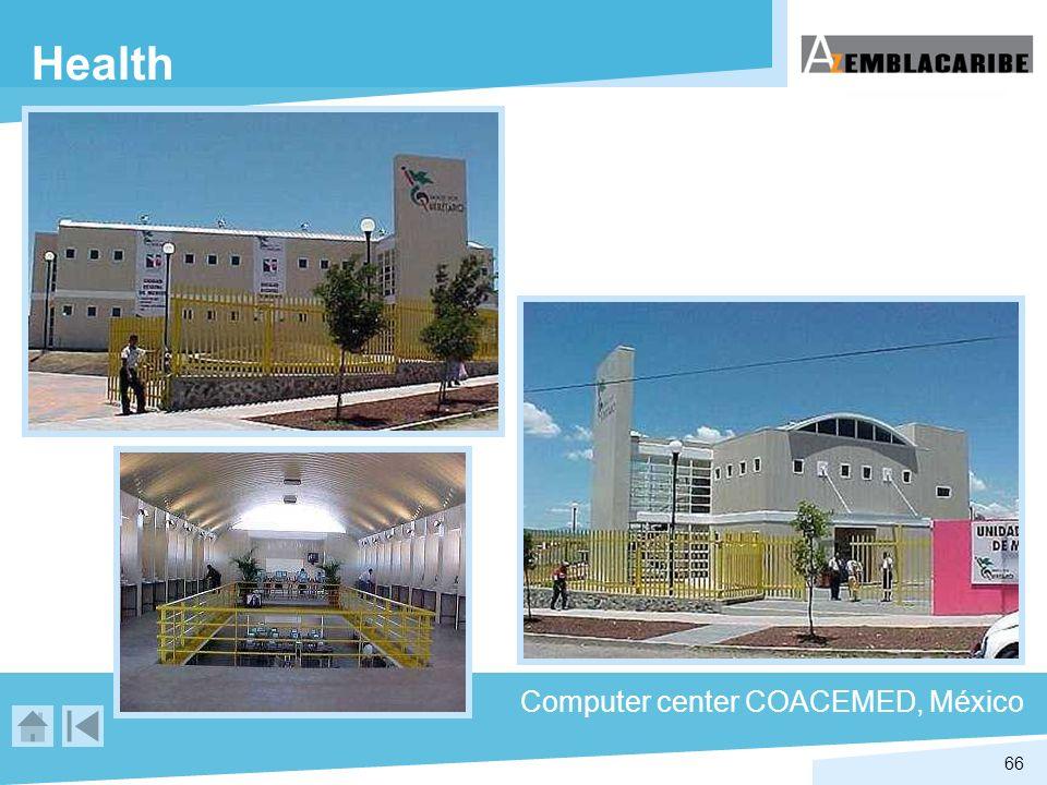 66 Health Computer center COACEMED, México