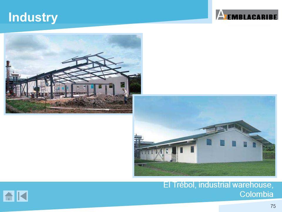 75 Industry El Trébol, industrial warehouse, Colombia