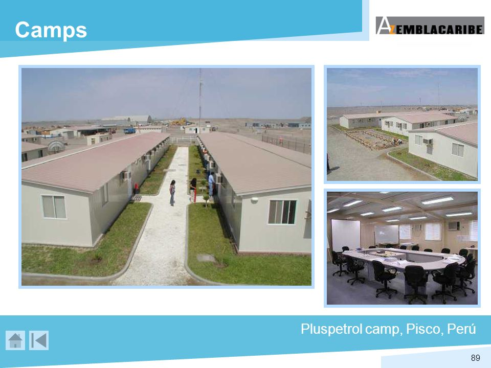 89 Camps Pluspetrol camp, Pisco, Perú