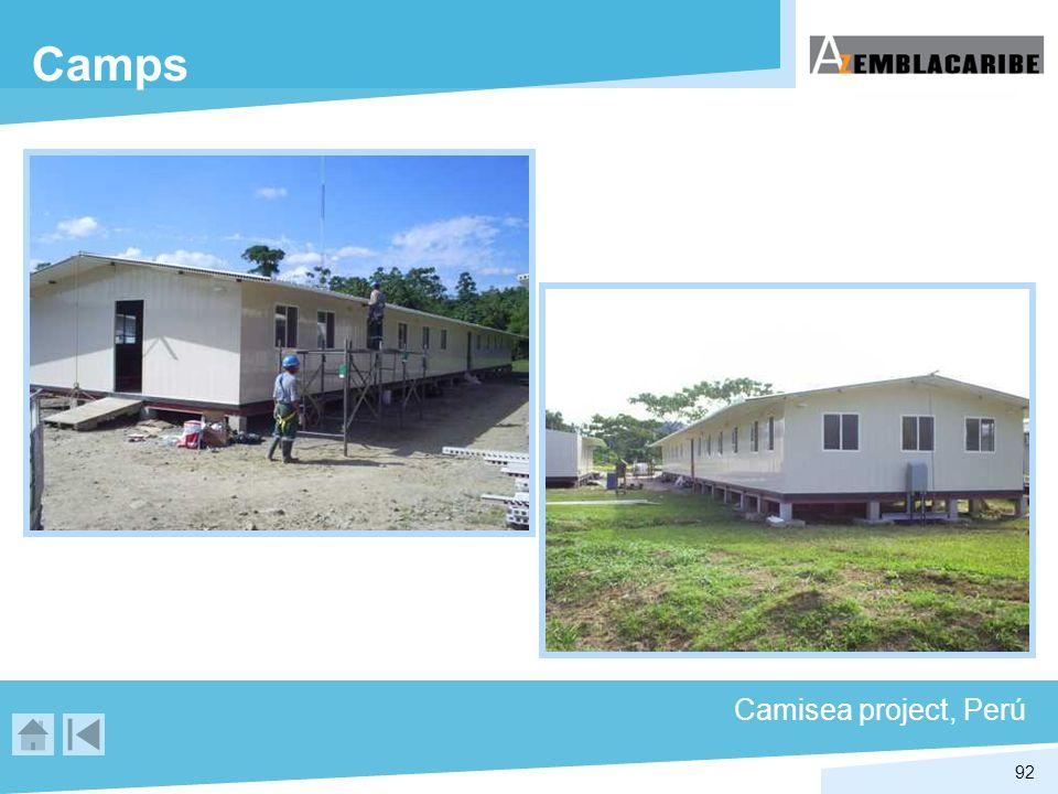 92 Camps Camisea project, Perú