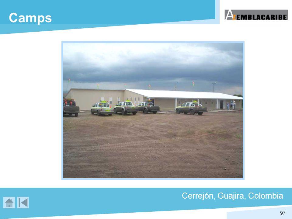 97 Camps Cerrejón, Guajira, Colombia