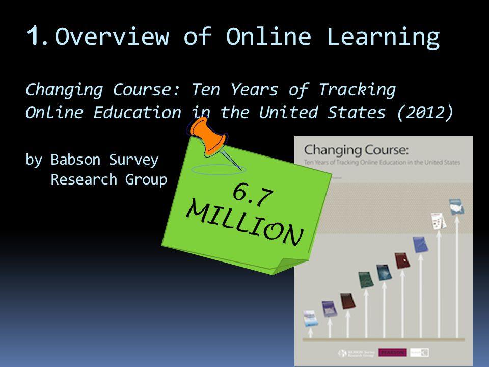 Online Learning in Canada: At a Tipping Point, A Cross-country Checkup 2012 by Contact North Close to ONE MILLION?
