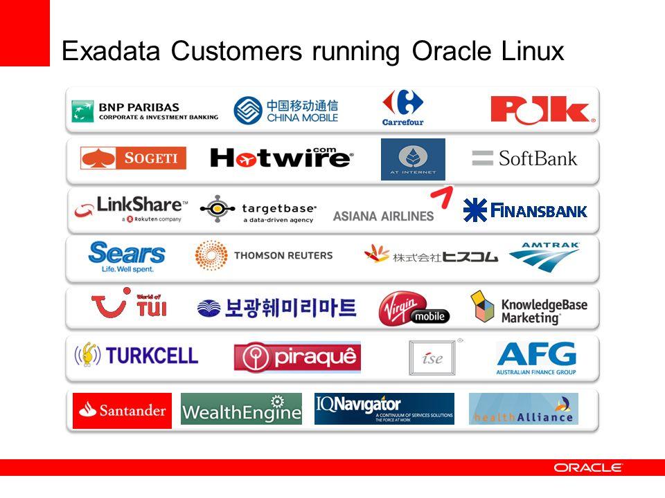 Exadata Customers running Oracle Linux