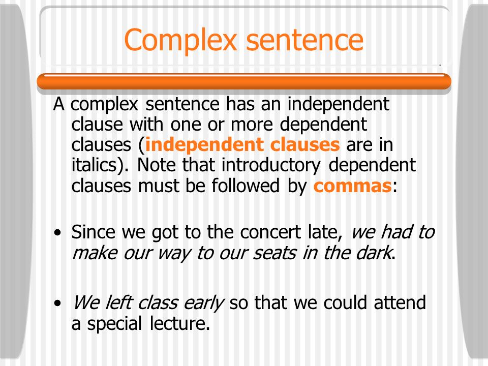 Compound sentence without coordinating conjunctions When a transition leads a clause, it is usually followed by a comma. If the transition lands in th