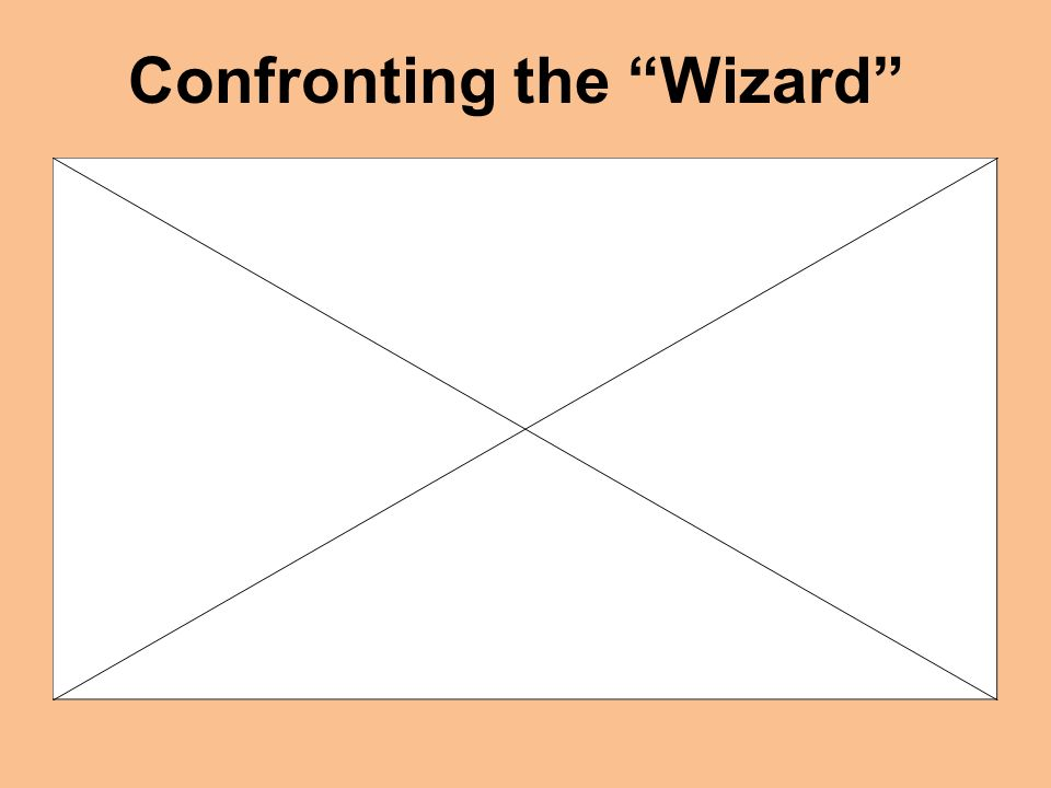 Confronting the Wizard