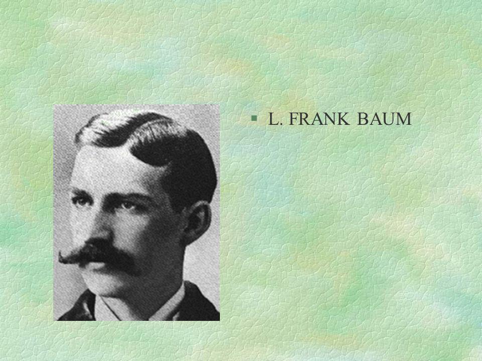 §L. FRANK BAUM