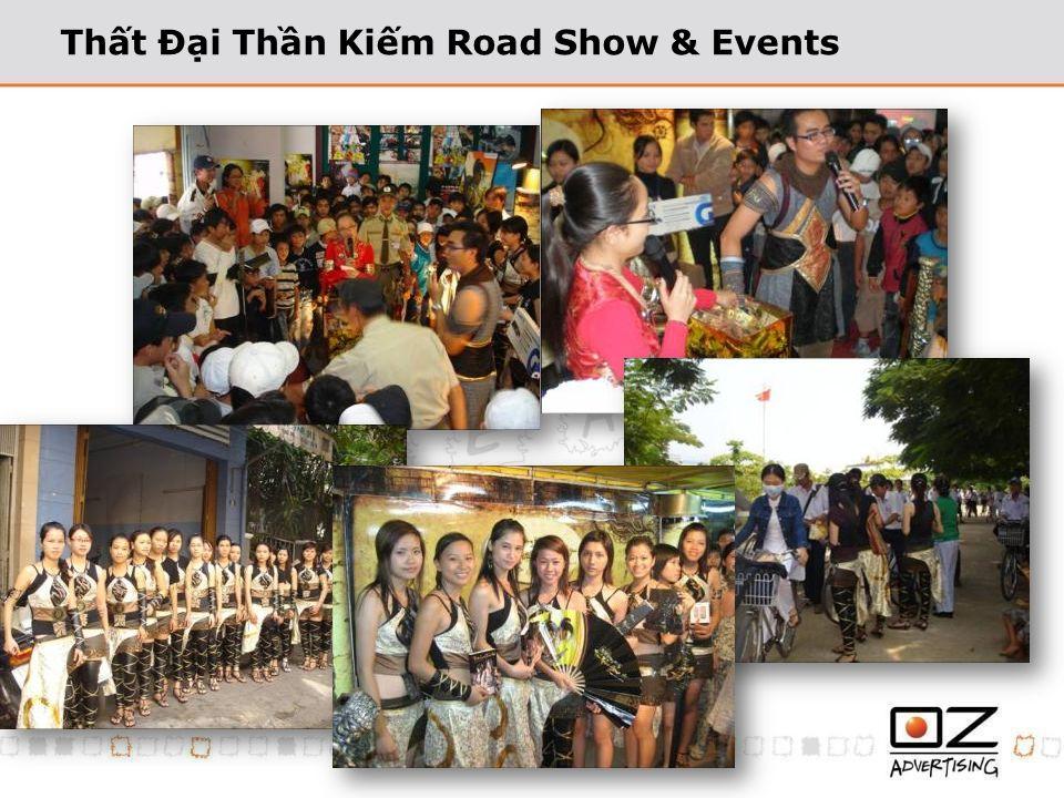 Thất Đại Thần Kiếm Road Show & Events