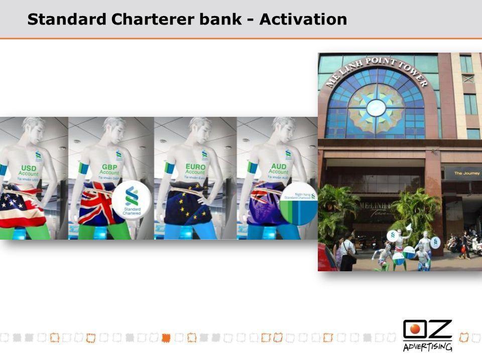 Standard Charterer bank - Activation