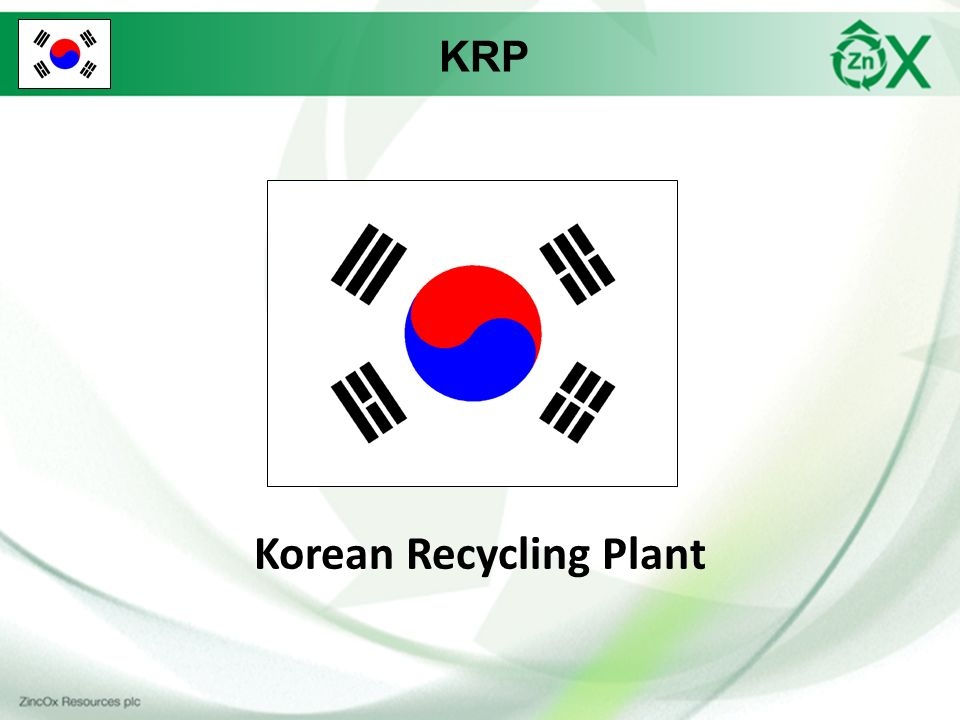 KRP Korean Recycling Plant