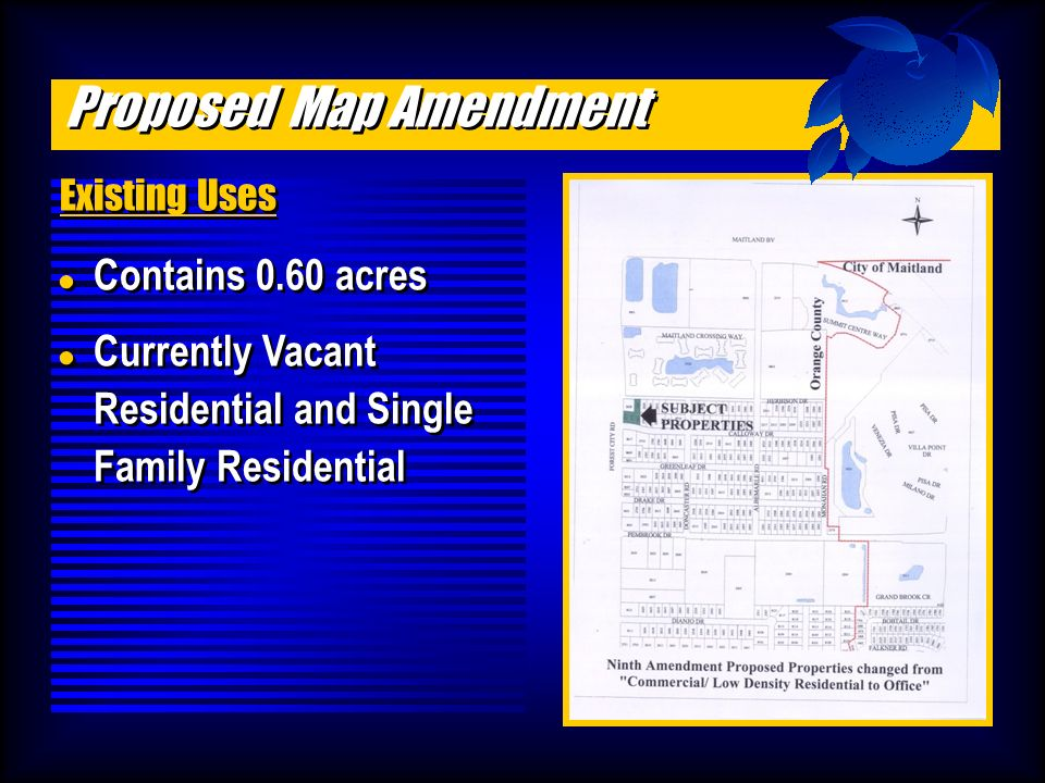 Amendments to the JPA Future Land Use Map .