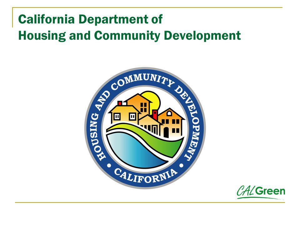 California Department of Housing and Community Development