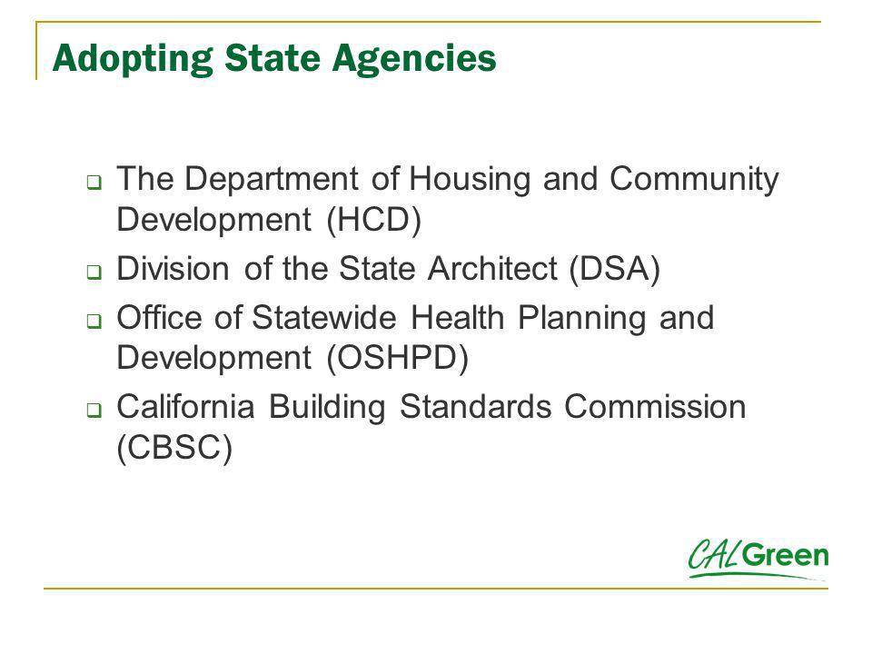 California Building Standards Commission Independent Commission State and Consumer Services Agency