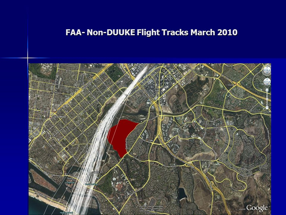 FAA- Non-DUUKE Flight Tracks March 2010