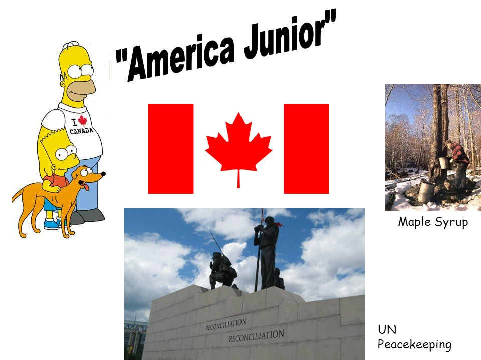Maple Syrup UN Peacekeeping