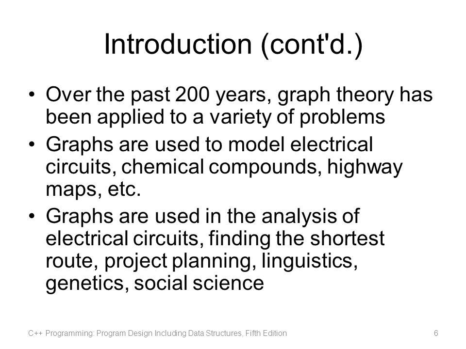C++ Programming: Program Design Including Data Structures, Fifth Edition37 Shortest Path Algorithm (cont d.)