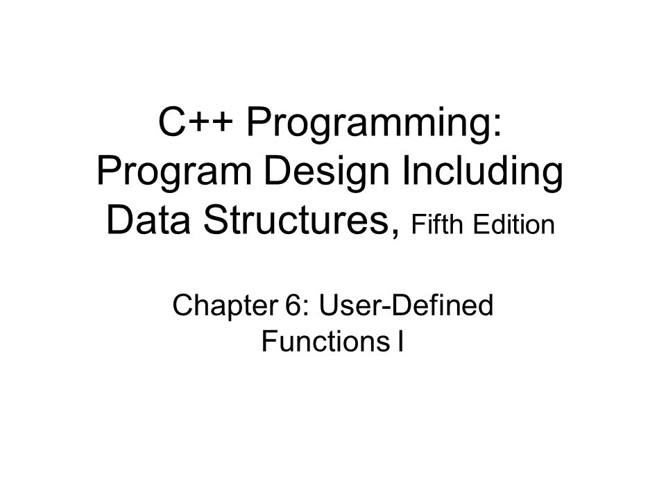 C++ Programming: Program Design Including Data Structures, Fifth Edition32 Example 6-5: Palindrome Number (contd.)
