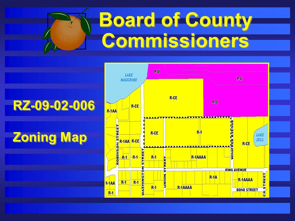 Board of County Commissioners RZ-09-02-006 Zoning Map RZ-09-02-006 Zoning Map