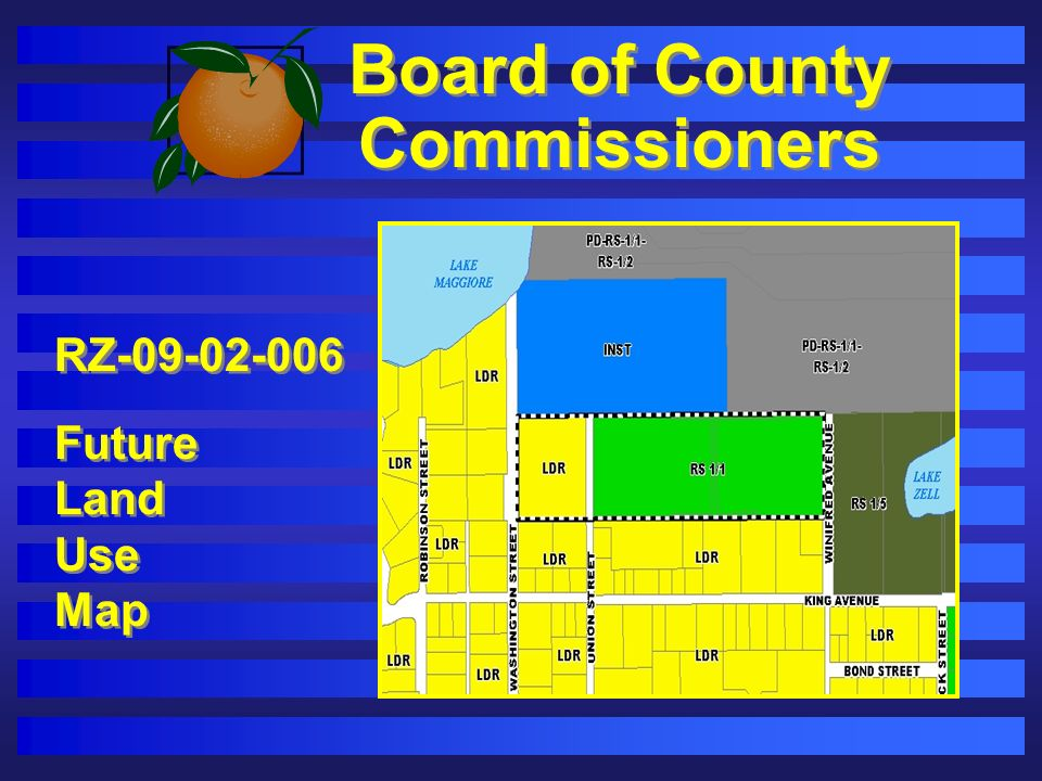 Board of County Commissioners RZ-09-02-006 Future Land Use Map RZ-09-02-006 Future Land Use Map