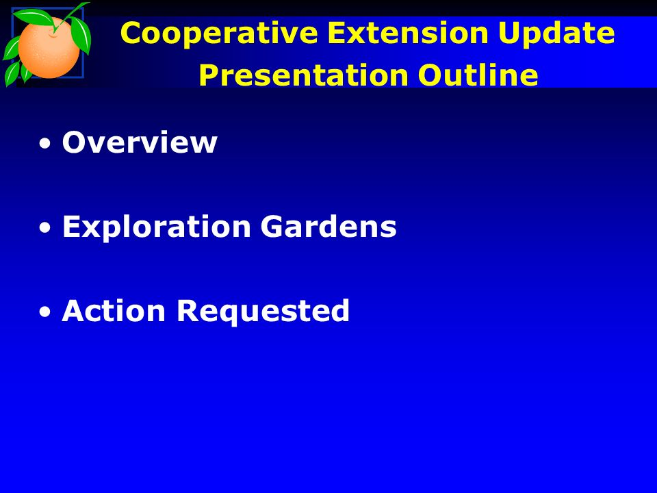 Grand Opening Cooperative Extension Exploration Gardens