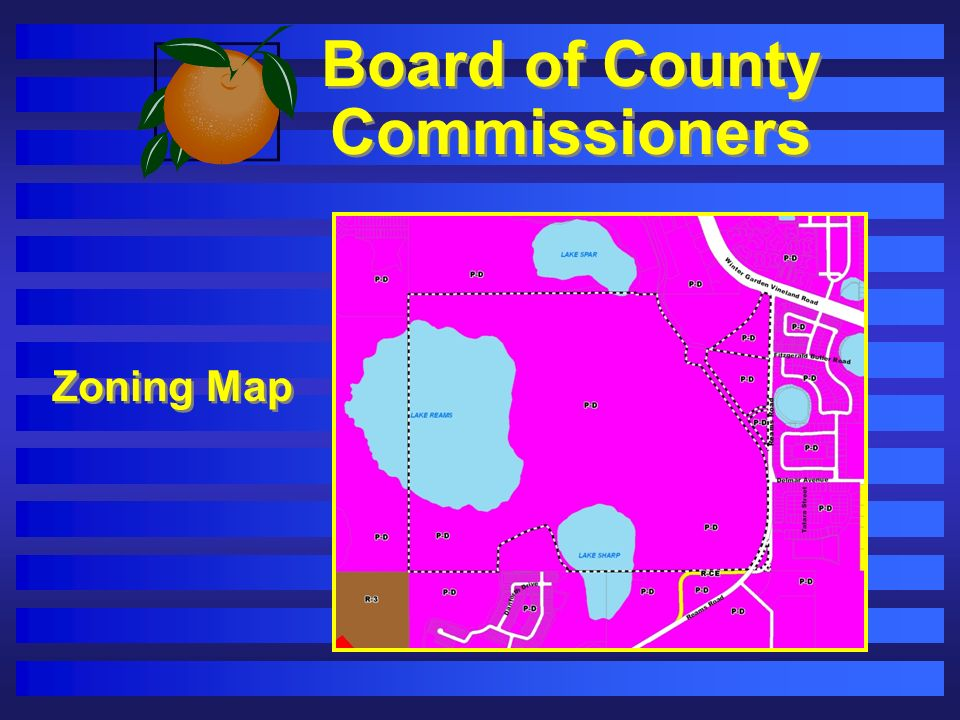 Board of County Commissioners Zoning Map