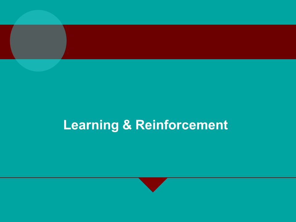 2-4 Learning Involves change Is relatively permanent Is acquired through experience Learning Involves change Is relatively permanent Is acquired through experience Learning Any relatively permanent change in behavior that occurs as a result of experience.