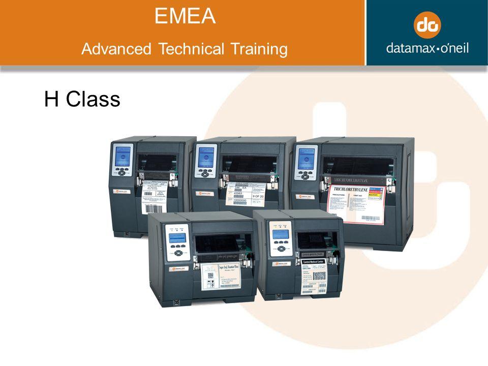 Title EMEA Advanced Technical Training H Class