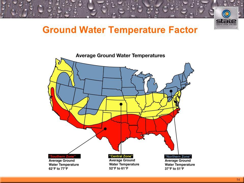 Ground Water Temperature Factor 14