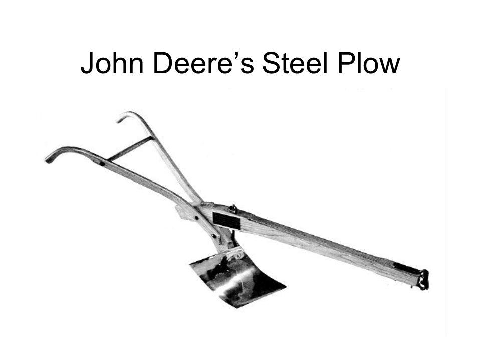 John Deeres Steel Plow
