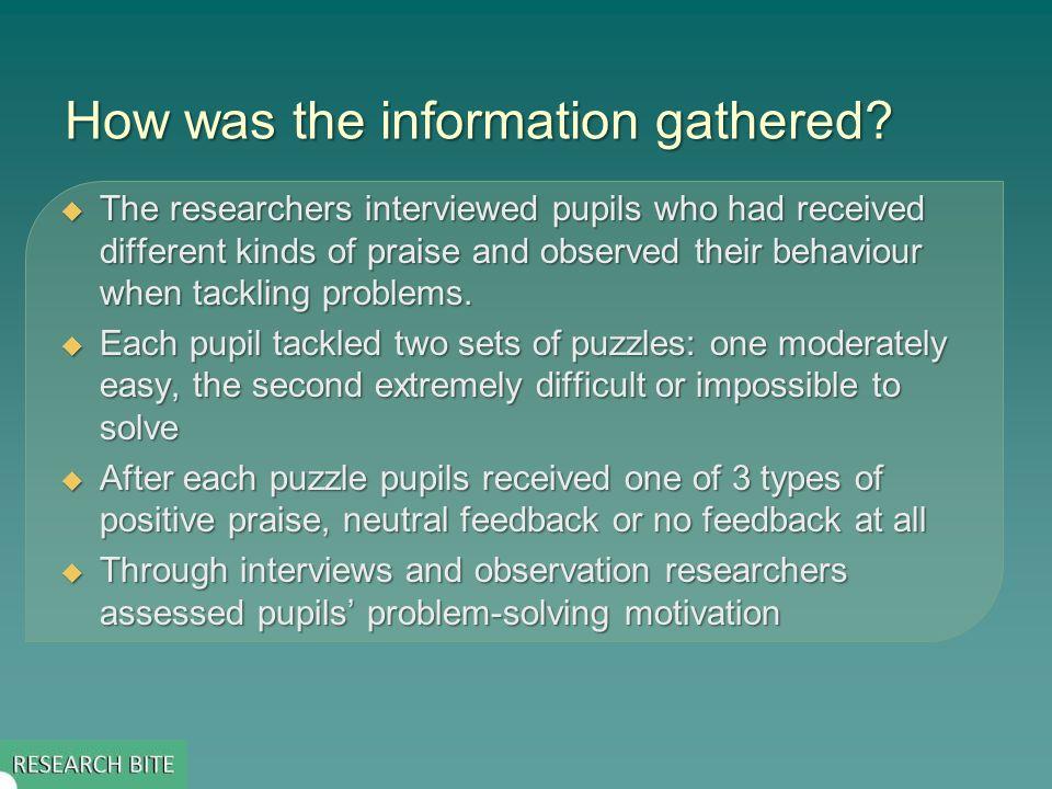 How can teachers use this evidence.