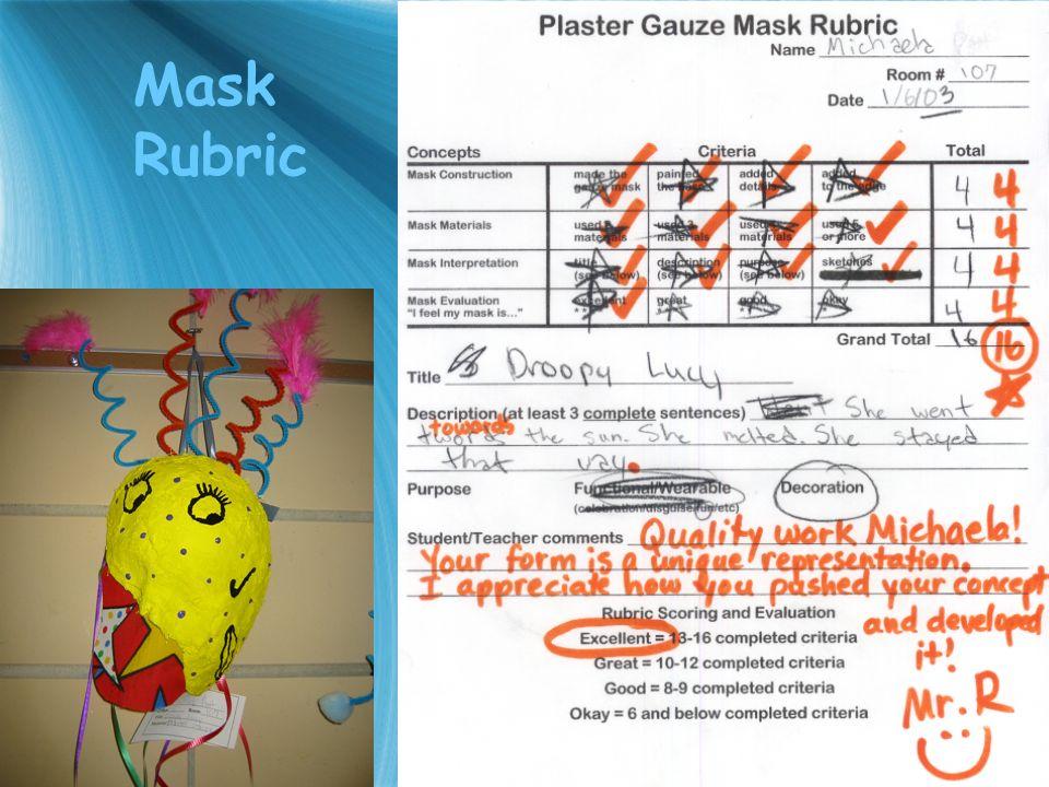 Mask Rubric