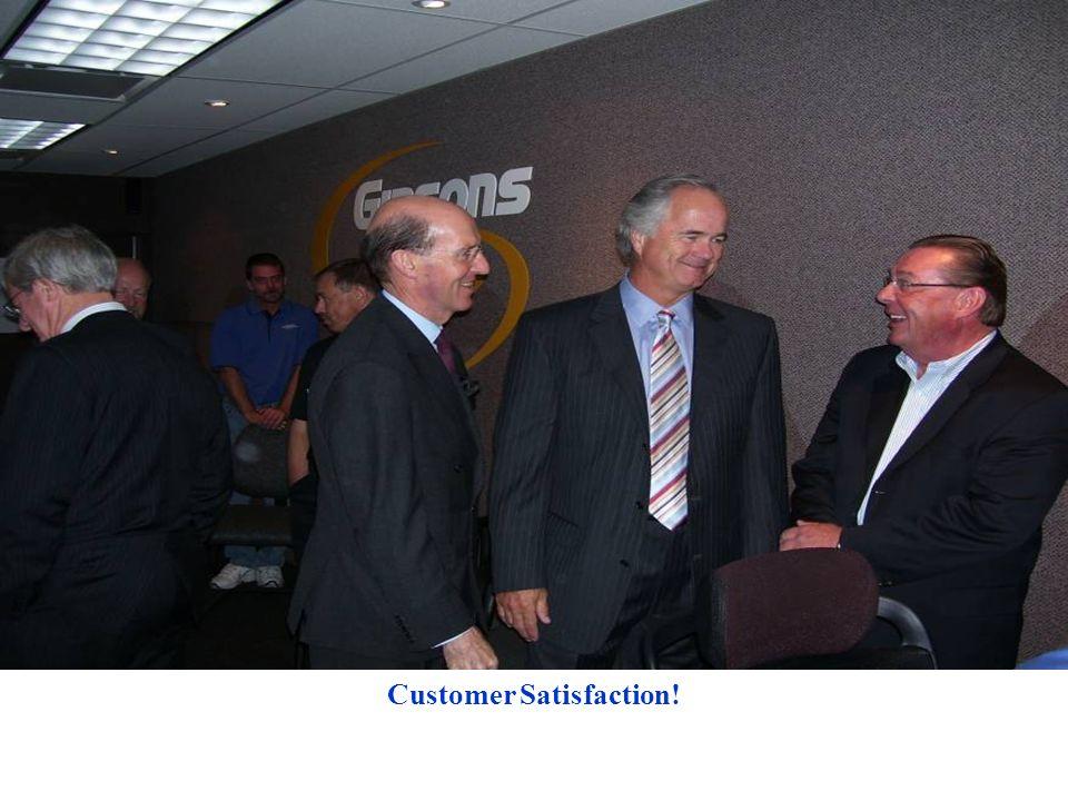Customer Satisfaction!