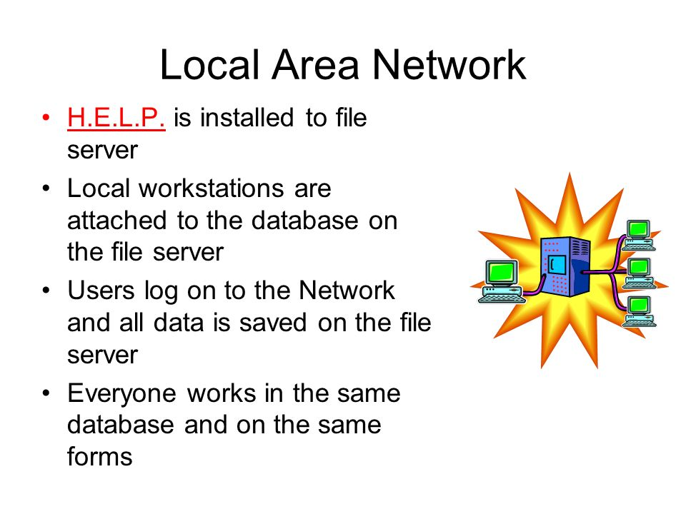 Local Area Network H.E.L.P.