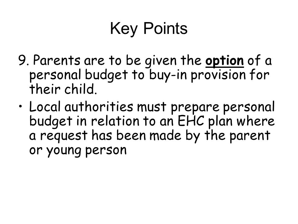 Key Points 9.