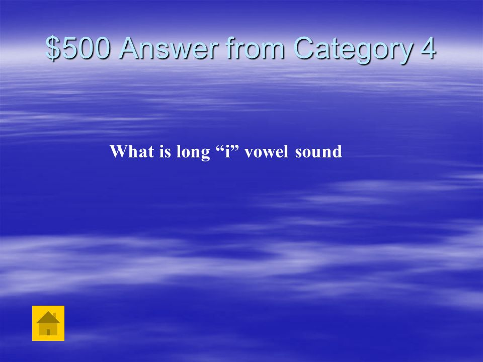 $500 Question from Category 4 The word knight