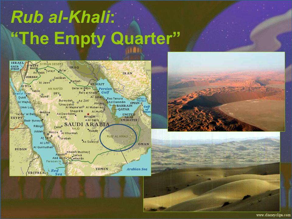 Rub al-Khali: The Empty Quarter