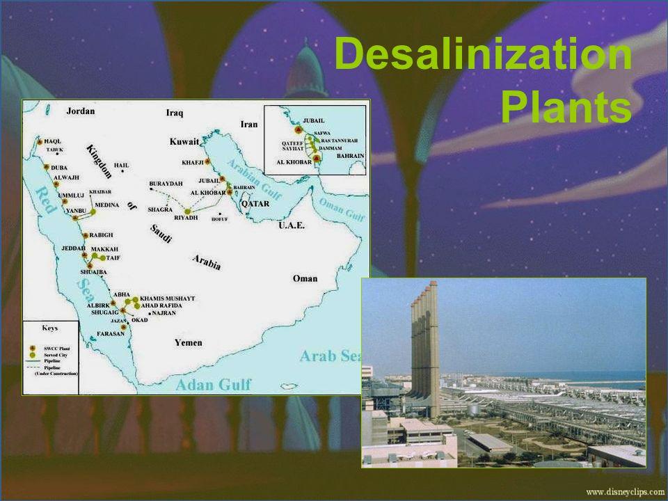 Desalinization Plants