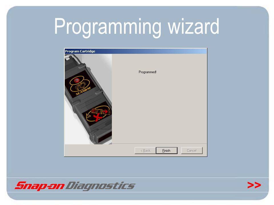 >> Programming wizard