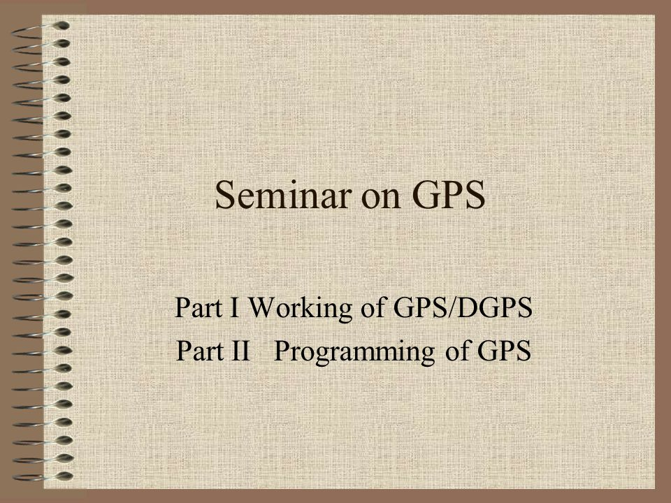 Errors due to geometry Poor GDOP –When angles from the receiver to the SVs used are similar Good GDOP –When the angles are different
