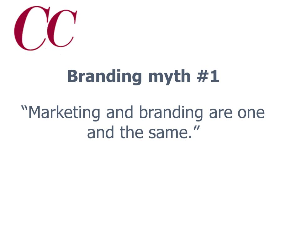What is a brand, anyway? McDonalds versus Franks Home-Style Cooking